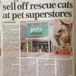 Mail On Sunday pet story