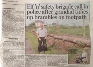Jim Higgins, Daily Mail