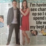 Sell your story to a newspaper/transgender real life