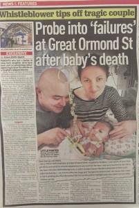 Great Ormond Street Hospital whistleblower story