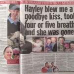 Hayley Okines - mum Kerry's tribute