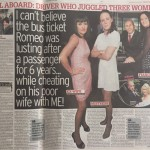 Mistress story, Daily Mirror