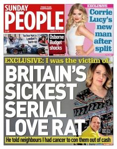 Love rat story in the press