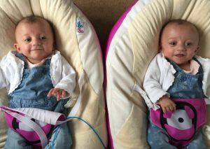 Smallest twins in Britain