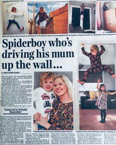 Ethan Broughton autistic spiderboy